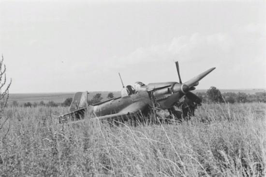 Вынужденная посадка  Ju-87