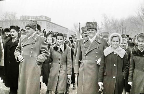 маршалы А.И. Еременко и В.И. Чуйков