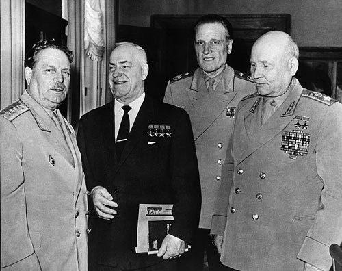 Советские военначальники