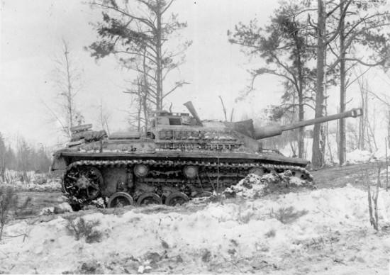 орудие StuG III